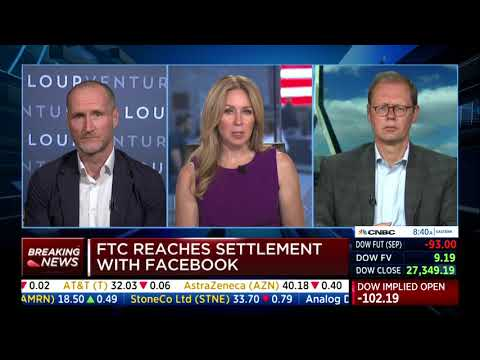 CNBC: Antitrust Scrutiny of Data-Opolies. Stucke comments on FTC's Settlement with Facebook