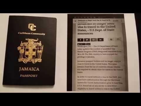 Jamaica Visa Scam