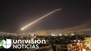 EEUU, Reino Unido y Francia lanzan un ataque conjunto contra centros de armas químicas en Siria
