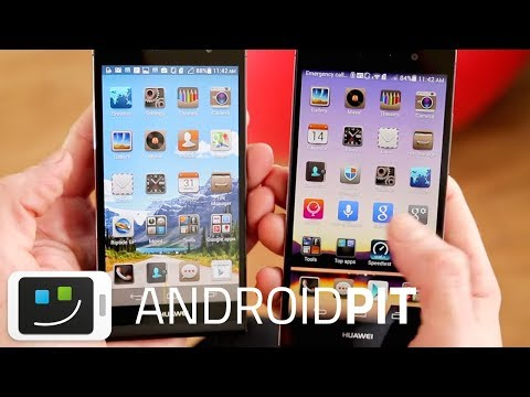 Huawei Ascend P7 vs Ascend P6 [COMPARISON]