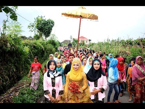 Tradisi Nyongkolan SASAK LOMBOK - NTB // Unique Lombok Ceremony Culture // Tradition//Tedy & Winda