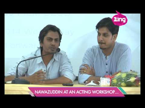 Nawazuddin Siddiqui at an acting workshop - Bollywood Life