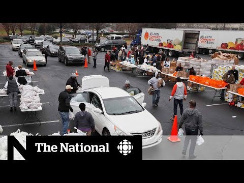 CBC News: The National: U.S. shutdown has workers turning to food banks to make ends meet