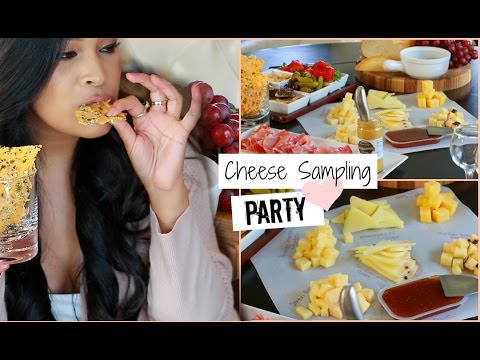 Party Idea Hosting Tips Wine & Cheese Sampling Party