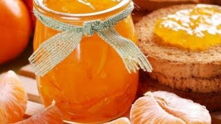 مربي البرتقال واليوسفي باسهل طريقة وبمذاق رائع 😋 😋