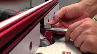Infinity Cutting Tools Lock Miter Master Jig