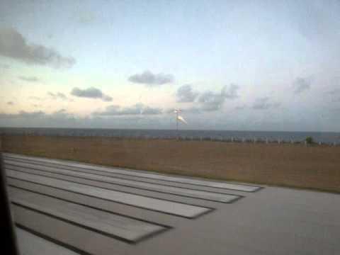 Landing at Nauru