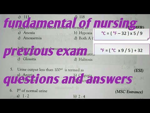 fundamental nursing questions and answers | fundamental nursing in hindi | fundamental nursing mcq |