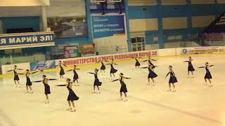Чемпионат России по синхронному катанию  KMC  КП 7 Олимпийский МОС