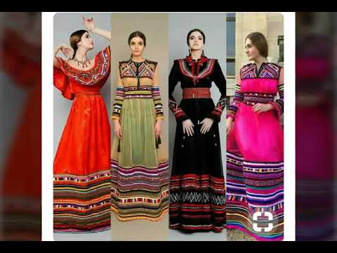 robe kabyle moderne pour mariage 2018 nouvelle collection youtube. Black Bedroom Furniture Sets. Home Design Ideas