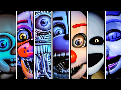 Five Nights at Freddy's Sister Location All Jumpscares