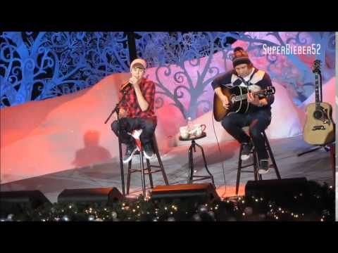 Justin Bieber Somebody To Love Live Acoustic | Reggae Version | 2010 - 2011