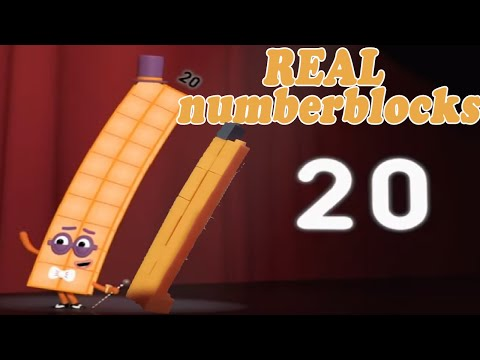 Real Blocks Dancing to Numberblocks 20