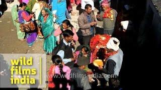 Devotees seek blessings from Goddess Nanda Devi - Uttarakhand