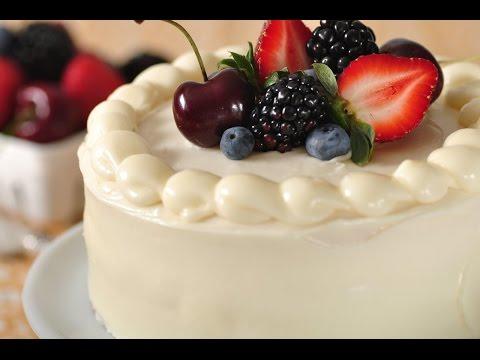 White Butter Cake Recipe Demonstration - Joyofbaking.com