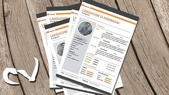 CV professionnel