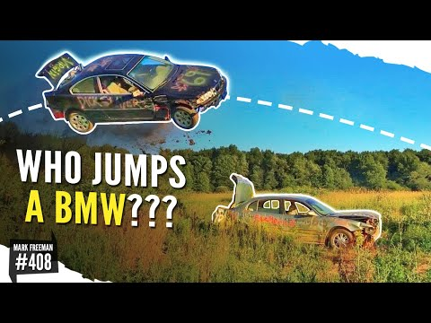 BMW Epic Car JUMP FLIP!!!!!   Mark Freeman #408