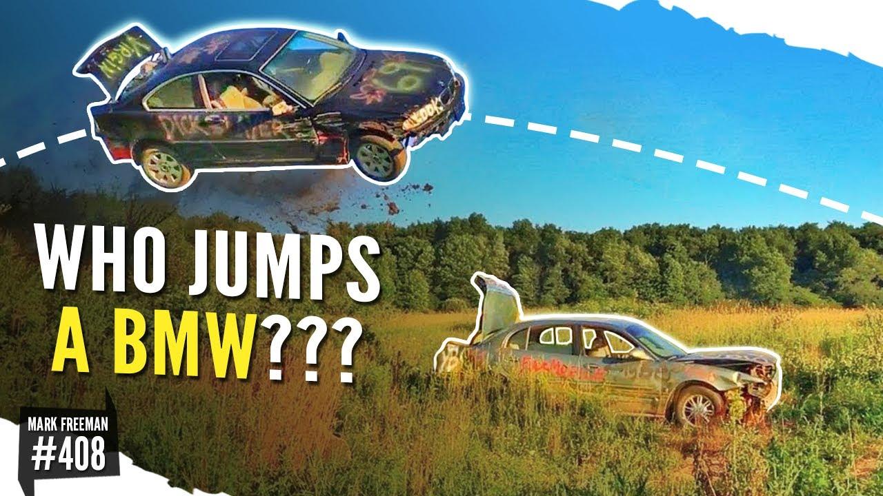 BMW Epic Car JUMP FLIP!!!!!