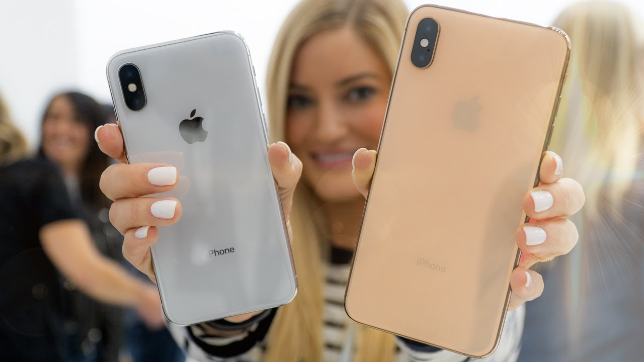 Iphone Xs Max And Iphone Xr Youtube