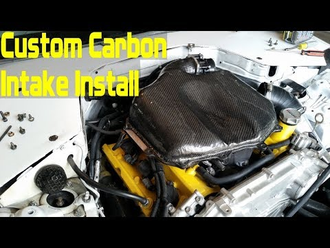 How to Install and Test a Custom Carbon Fiber Intake (350Z Part 4 of 6)