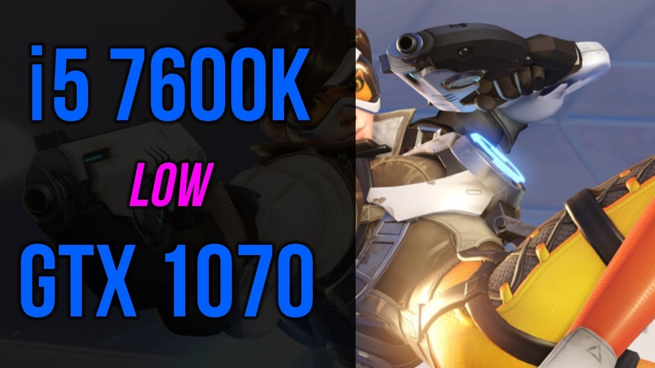 1070 + 7600K - LOW - Overwatch FPS Benchmark