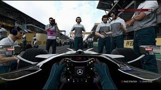 F1 2017 Classic Car Racing League Race Round 9 | McLaren MP4-23 at Brazil