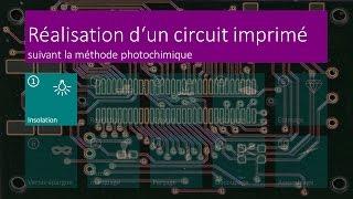 Réalisation d'un circuit imprimé - 01 Insolation - FR