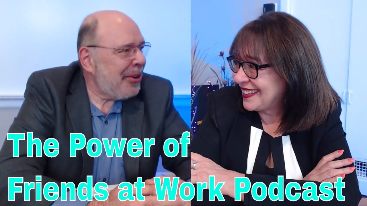 "THE POWER OF FRIENDS AT WORK: ""The Million Dollar Writer"" author Rich Gallagher joins Debbie Morello in-studio podcast (video)"