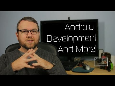 Learning Android Development inside Android, ADB Tutorials and an XDA Merchandise Contest!