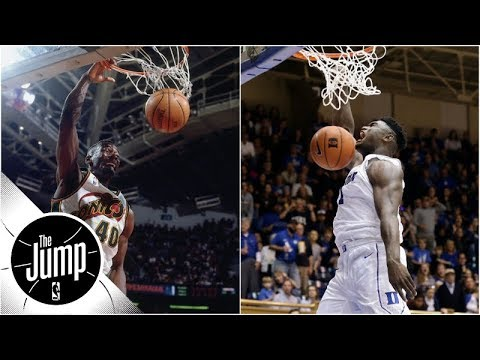 Paul Pierce compares Zion Williamson to Shawn Kemp during coast-to-coast dunks montage | The Jump