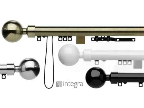 curtain rails poles & curtain tracks