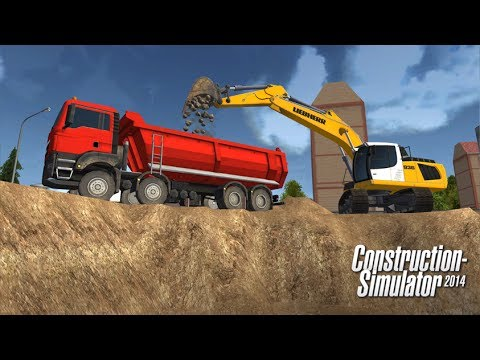 Construction Simulator 2014 Android GamePlay Trailer (HD) [Game For Kids]