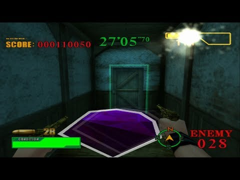 Let's Fully Play Resident Evil Survivor 2 - Code: Veronica   Dungeon Mode   Clock Tower - Mission 2
