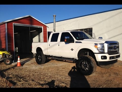 2014 Ford F-250 Powerstroke diesel 6.7 pushing 600+ horsepower 6 ...