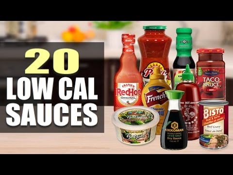 20 Low Calorie Sauces To Add Flavor To Your Meals