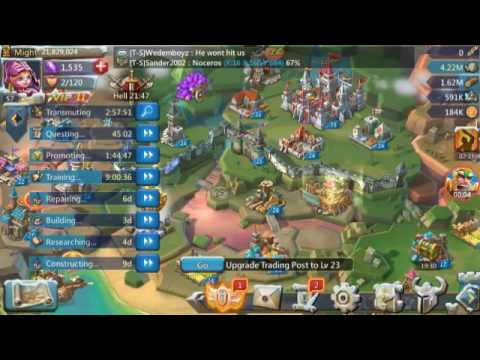Lords-Mobile | How To Set Your Talent Points And Win Every War!