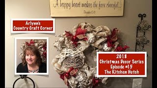 2018 Christmas Decor Series: Ep. #15, The Powder Room