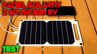 LabFun - Panel solarny z wyjściem 5V - Test