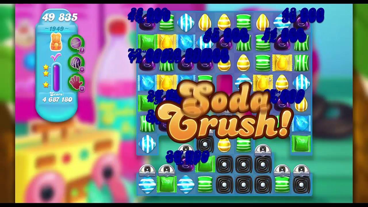 Candy Crush Soda Saga Level 1949 ★★★ | All Combo | Move ...