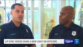 Law enforcement officials across Houston area enjoy lip sync challenge