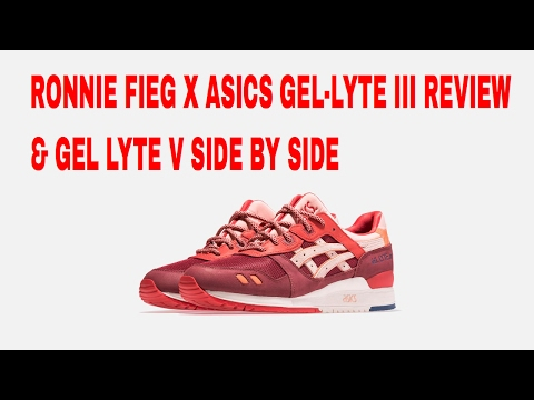 Ronnie Fieg GL3 review & side by side Glv