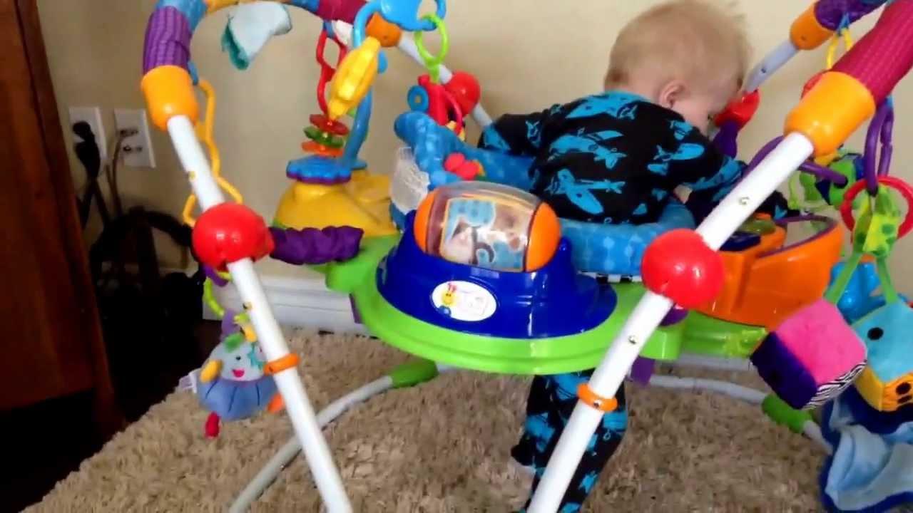 Baby Einstein Musical Motion Jumper Update (@ 8 months old ... | 1280 x 720 jpeg 80kB