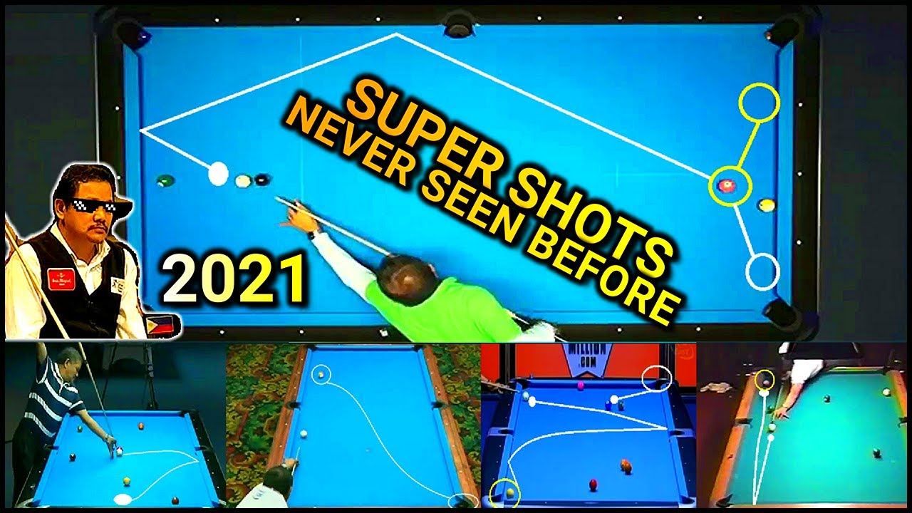 SUPER SHOTS THAT WILL LEAVE YOU BREATHLESS | Efren Reyes super shots 2