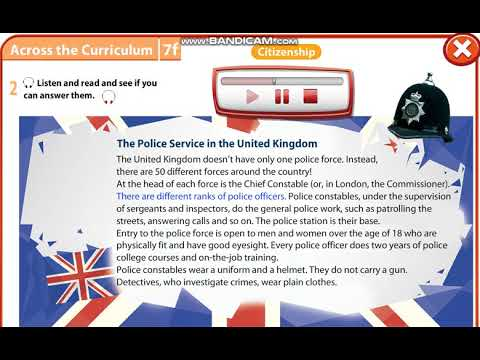 Download Excel 7 module 7 p84 ex2 The Police Service in the UK text ver