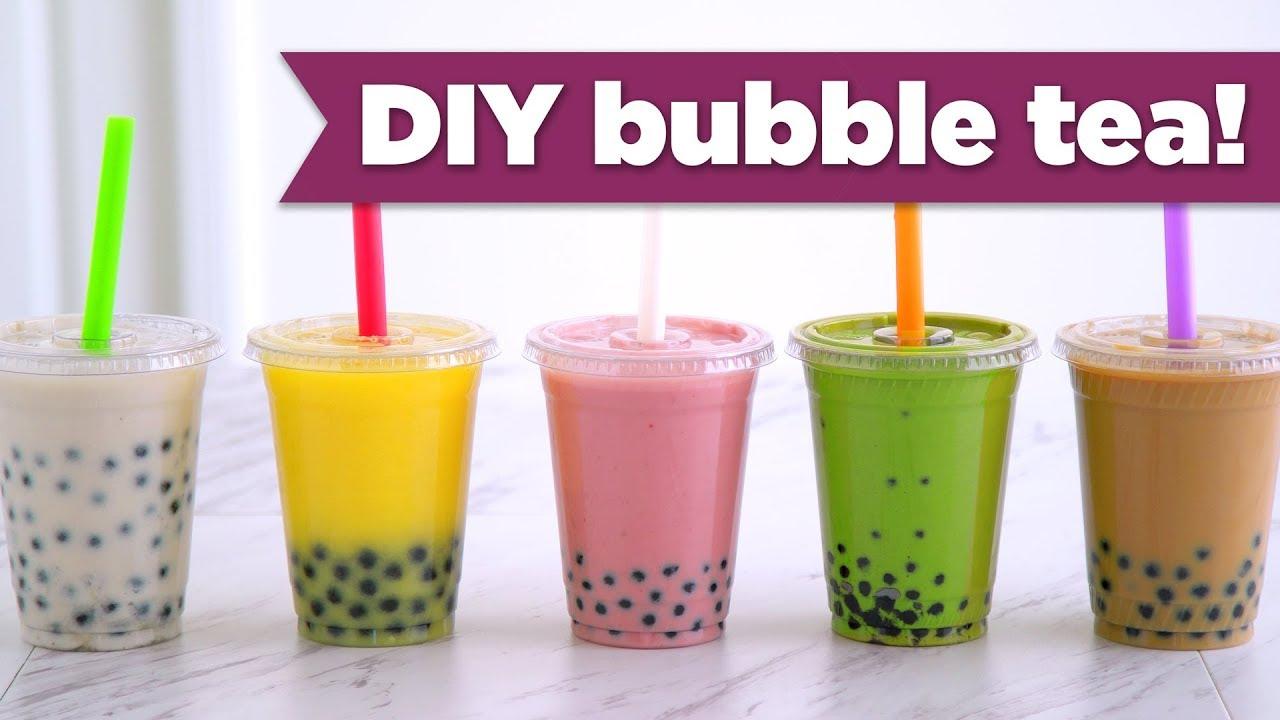 diy boba bubble tea