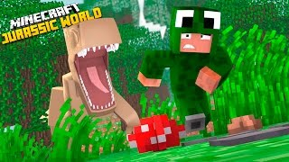 Minecraft Adventure - WELCOME TO JURASSIC WORLD!