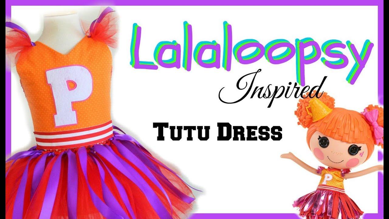 sc 1 st  YouTube & Lalaloopsy Inspired Costume Tutu - DIY - YouTube