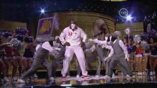 Shaq Jabbawockeez Dance NBA All-Star 2009 HD = Shaqawockeez