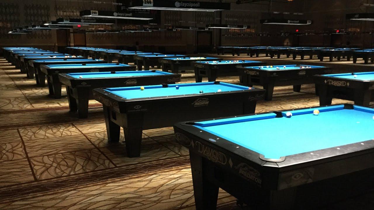 Playing in Las Vegas  BCA team tournament Day 2