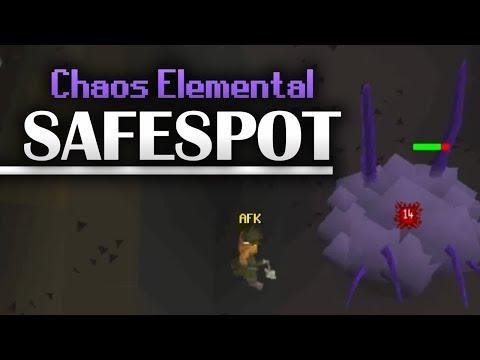 Chaos Elemental Safespot Guide (No Movement Needed!)